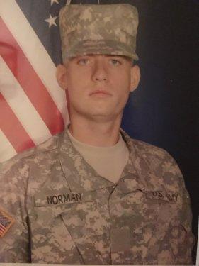 Jeremy Norman War in Iraq Photo